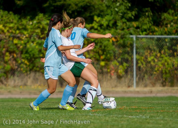 1387 Girls Varsity Soccer v Chief-Sealth 092214