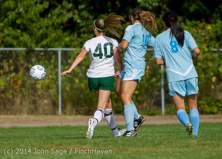 1392 Girls Varsity Soccer v Chief-Sealth 092214