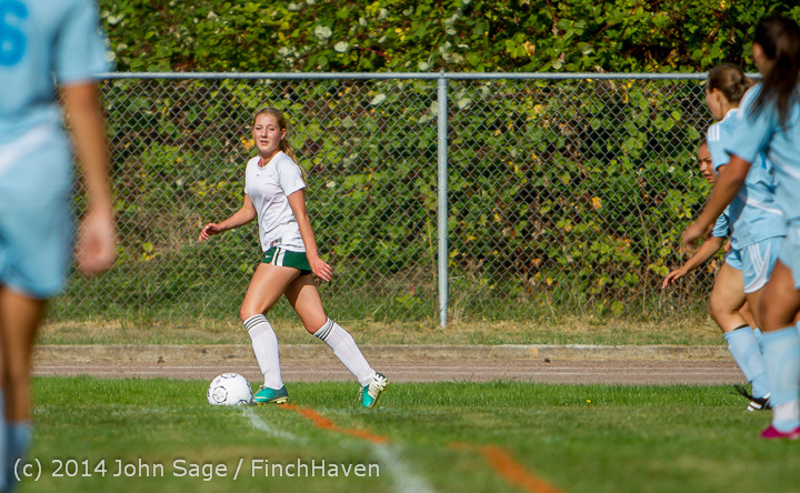 1397 Girls Varsity Soccer v Chief-Sealth 092214