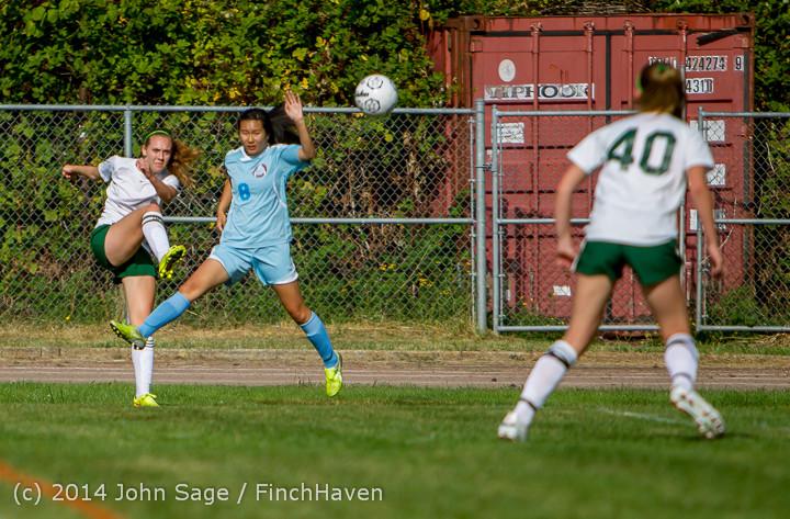 1404 Girls Varsity Soccer v Chief-Sealth 092214