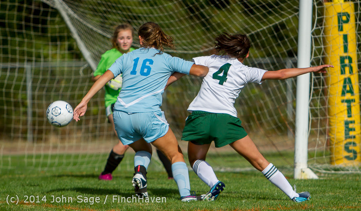 1410 Girls Varsity Soccer v Chief-Sealth 092214