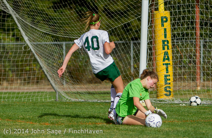 1425 Girls Varsity Soccer v Chief-Sealth 092214