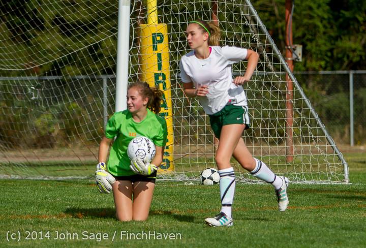 1434 Girls Varsity Soccer v Chief-Sealth 092214