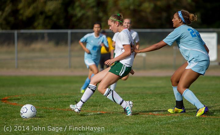 1442 Girls Varsity Soccer v Chief-Sealth 092214