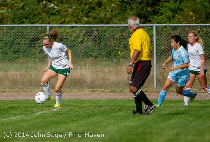 1471 Girls Varsity Soccer v Chief-Sealth 092214