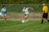 1474 Girls Varsity Soccer v Chief-Sealth 092214