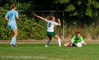 1524 Girls Varsity Soccer v Chief-Sealth 092214