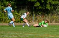 1526 Girls Varsity Soccer v Chief-Sealth 092214