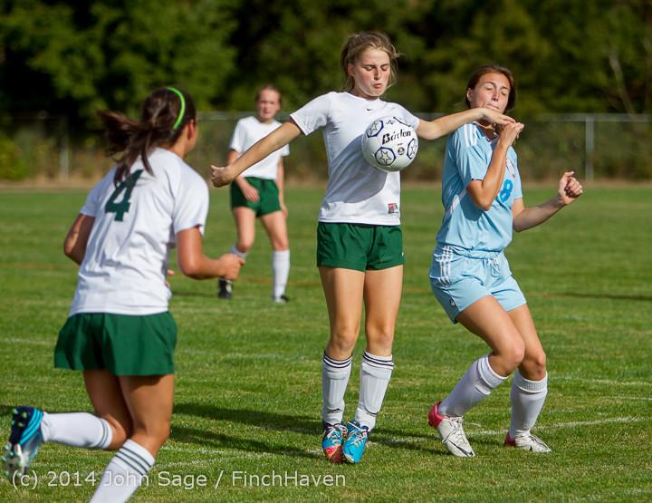 1545 Girls Varsity Soccer v Chief-Sealth 092214