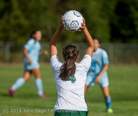 1549 Girls Varsity Soccer v Chief-Sealth 092214