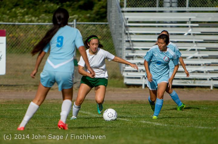 1692 Girls Varsity Soccer v Chief-Sealth 092214
