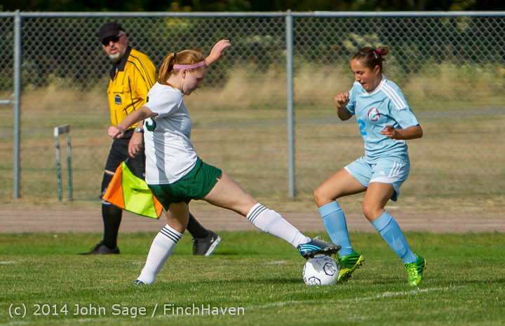 1713 Girls Varsity Soccer v Chief-Sealth 092214