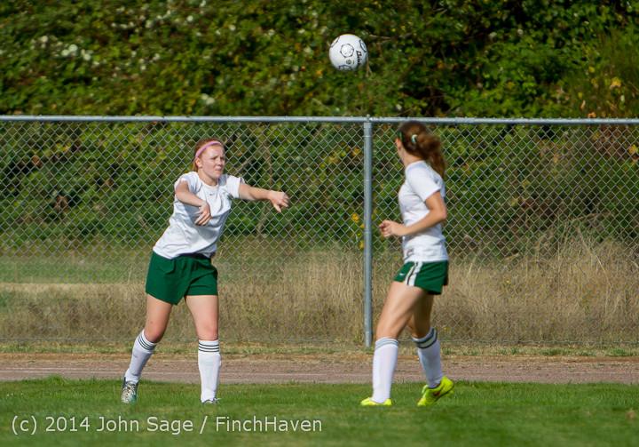 1741 Girls Varsity Soccer v Chief-Sealth 092214