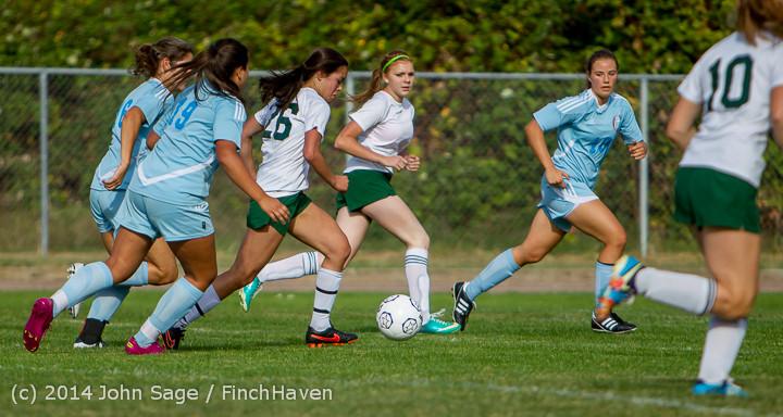 1775 Girls Varsity Soccer v Chief-Sealth 092214