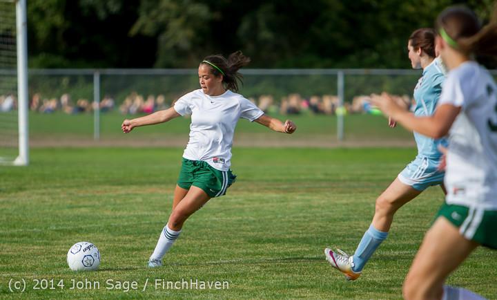 1792 Girls Varsity Soccer v Chief-Sealth 092214