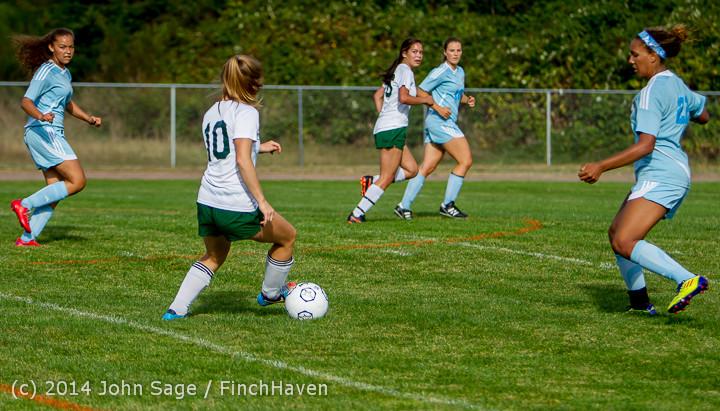 1809 Girls Varsity Soccer v Chief-Sealth 092214