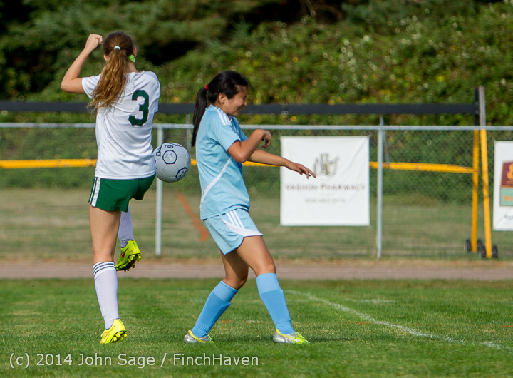 1819 Girls Varsity Soccer v Chief-Sealth 092214