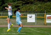1821 Girls Varsity Soccer v Chief-Sealth 092214