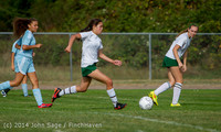 1823 Girls Varsity Soccer v Chief-Sealth 092214