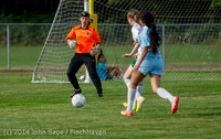 1835 Girls Varsity Soccer v Chief-Sealth 092214