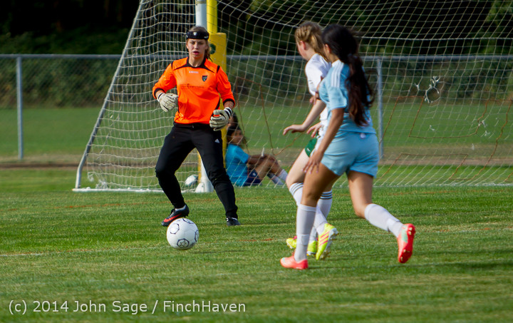 1835 Girls Varsity Soccer v Chief-Sealth 092214