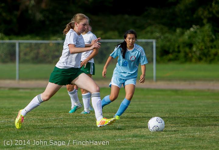 1852 Girls Varsity Soccer v Chief-Sealth 092214