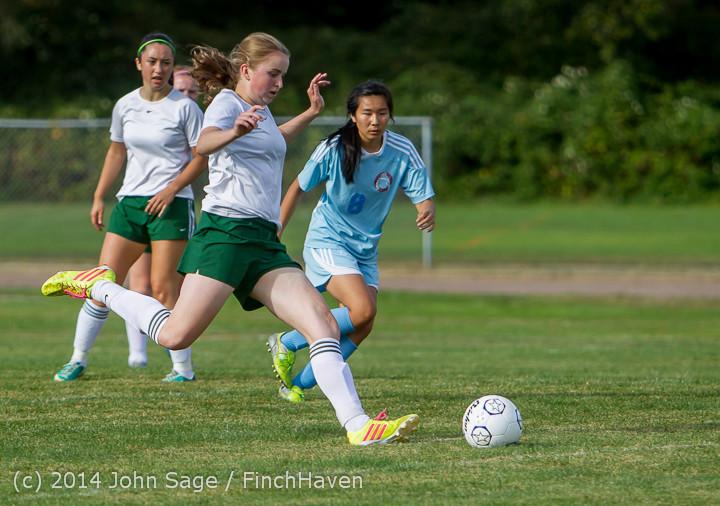 1853 Girls Varsity Soccer v Chief-Sealth 092214