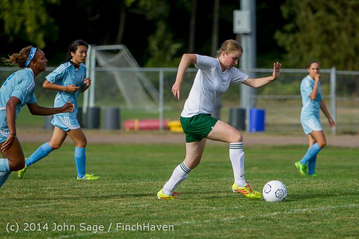 1857 Girls Varsity Soccer v Chief-Sealth 092214