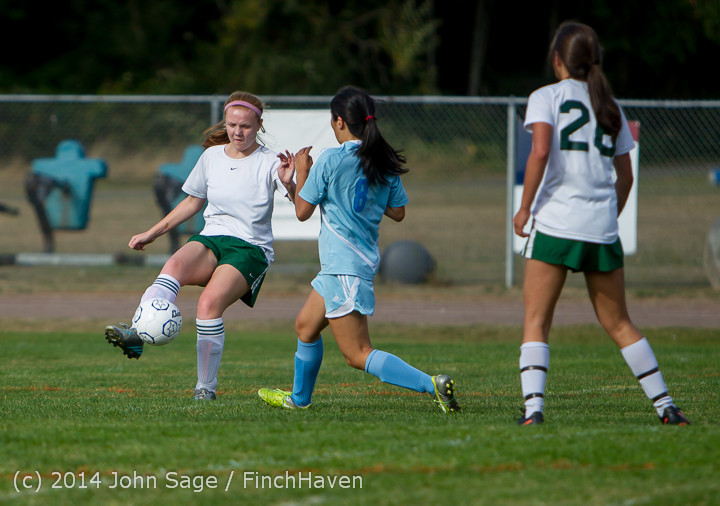1878 Girls Varsity Soccer v Chief-Sealth 092214