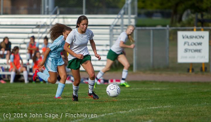 1882 Girls Varsity Soccer v Chief-Sealth 092214
