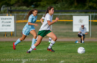 1887 Girls Varsity Soccer v Chief-Sealth 092214