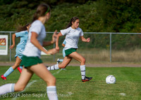 1892 Girls Varsity Soccer v Chief-Sealth 092214