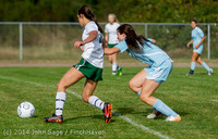 1895 Girls Varsity Soccer v Chief-Sealth 092214