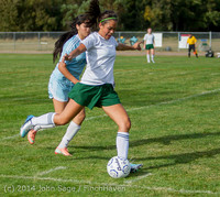 1910 Girls Varsity Soccer v Chief-Sealth 092214
