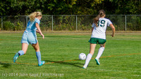1917 Girls Varsity Soccer v Chief-Sealth 092214