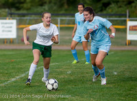 1947 Girls Varsity Soccer v Chief-Sealth 092214