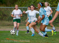 1983 Girls Varsity Soccer v Chief-Sealth 092214