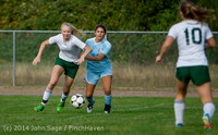 2010 Girls Varsity Soccer v Chief-Sealth 092214