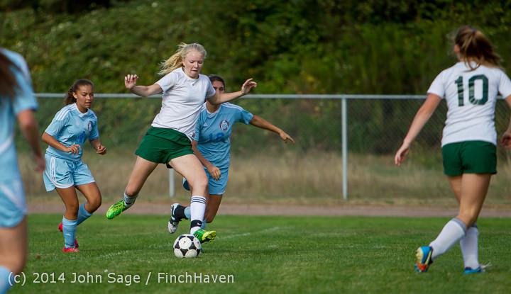 2014 Girls Varsity Soccer v Chief-Sealth 092214