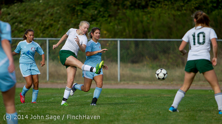 2017 Girls Varsity Soccer v Chief-Sealth 092214