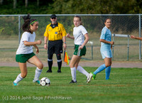 2026 Girls Varsity Soccer v Chief-Sealth 092214