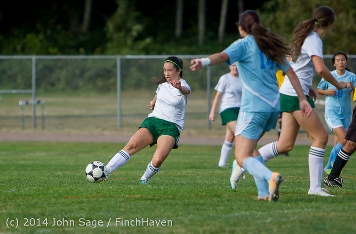 2032 Girls Varsity Soccer v Chief-Sealth 092214