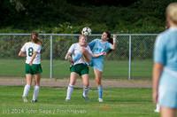2042 Girls Varsity Soccer v Chief-Sealth 092214