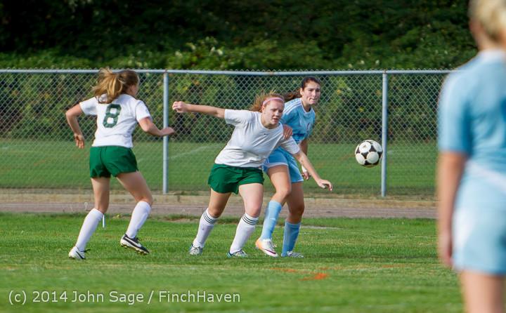 2046 Girls Varsity Soccer v Chief-Sealth 092214