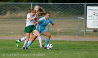 2054 Girls Varsity Soccer v Chief-Sealth 092214