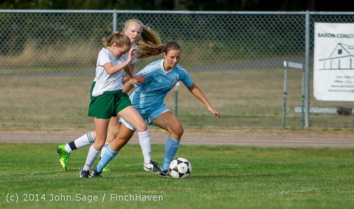 2054 Girls Varsity Soccer v Chief-Sealth 092214