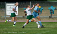 2059 Girls Varsity Soccer v Chief-Sealth 092214