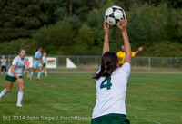 2072 Girls Varsity Soccer v Chief-Sealth 092214