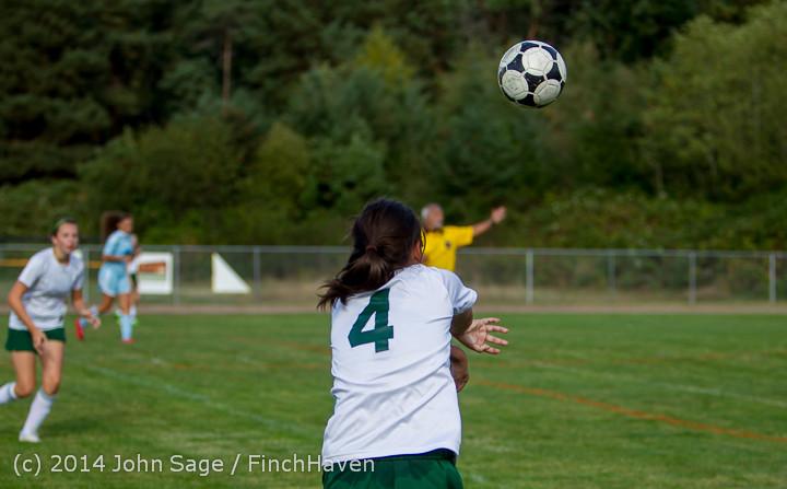 2073 Girls Varsity Soccer v Chief-Sealth 092214