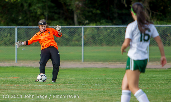 2087 Girls Varsity Soccer v Chief-Sealth 092214